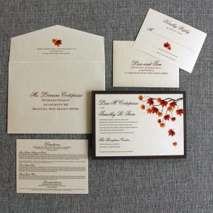 Falling In Love Invitation
