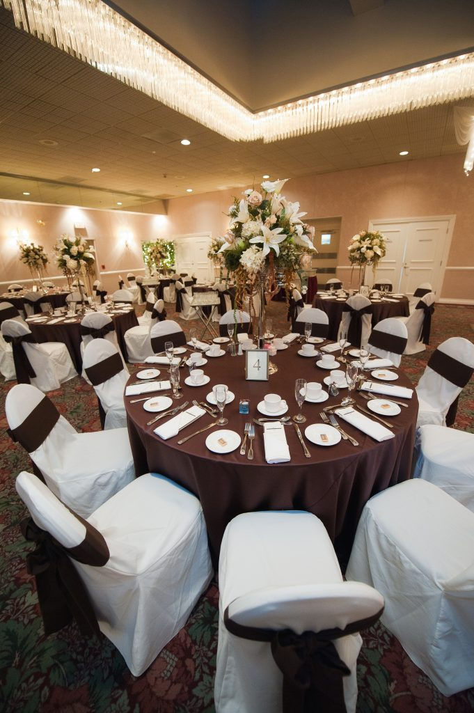 Wedding venue seating