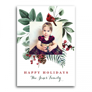 Merry Berries Frame Holiday Card